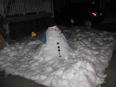 New and improved Snowman