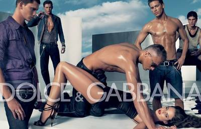 Controversial Dolche and Gabbana ad